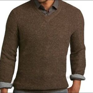 J.Crew V-Neck Long Sleeve Wool Sweater (XL)